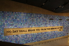 museum 911 Arkivbilder