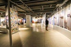 9/11 museum Royaltyfria Bilder