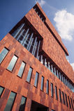 Museum aan de stroom, MAS, Antwerp Royaltyfria Foton