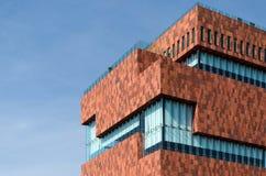 Museum aan de Stroom (MAS) in Antwerp Royalty Free Stock Photos