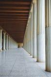 Museum am alten Agora Athen Griechenland Stockbilder