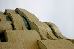 Museum of the American Indian. Turned 90 degrees as a waterfall royalty free stock photos