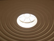 Museum of the American Indian Skylight Royalty Free Stock Image