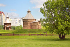 Museum of ancient Russian architecture in Kolomenskoye Stock Photos