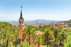 Museum of Antoni Gaudi in park Guell Stock Photography