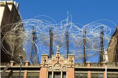 Museum Antoni Tapies, Barcelona Royalty Free Stock Photography