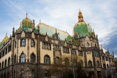 Museum of Applied arts (Budapest) Stock Images