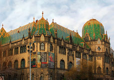 Museum of Applied Arts in Budapest, Hungary royalty free stock images