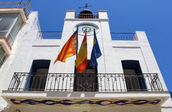 Museum of Archeology in city old town. Calp, Spain. Royalty Free Stock Photography