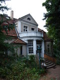Museum of Arkady Fiedler, Puszczykowo, Poland Stock Images