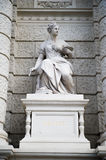 The Museum of art history facade sculpture Royalty Free Stock Images