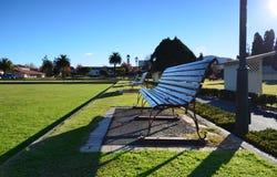 Museum of Art and History, Rotorua. New Zelandiya.Park. Stock Image