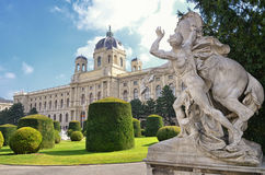 Museum of art history in Vienna, Austria.  Stock Photography
