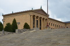 Museum of art in Philadelphia. The Philadelphia Museum of Art is among the largest art museums in the United States.It has collections of more than 227,000 stock photo