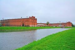 Museum of artillery on Artillery island on Kronverkskaya Embankment in Saint Petersburg, Russia Royalty Free Stock Photo