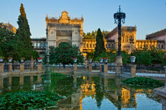 Museum of Arts and Traditions of Sevilla, Spain Royalty Free Stock Photography
