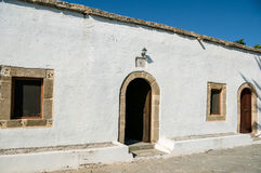Museum of Asklipeiou, island of Rhodes Stock Photo
