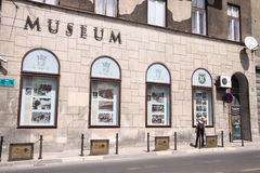 Museum of Assassination of Franz Ferdinand. This is where Ferdinand of Austria was murdered in 1914 and the event triggered the first world war stock photography