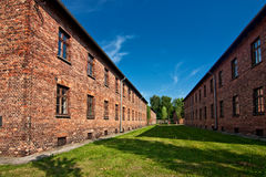 Museum in Auschwitz Stock Photography