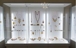 Museum av amber royaltyfri bild