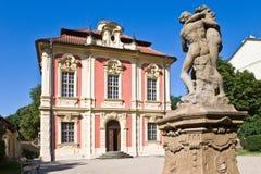 Museum av Antonin Dvorak (den Michna chateauen), ny stad, Prague, Cze Royaltyfri Fotografi