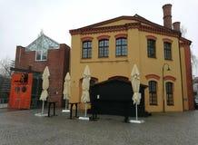 Museum av arbete royaltyfri bild
