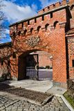 Museum av bärnsten i det tyska fortet Der Dohna. Kaliningrad (Koenigsberg till 1946), Ryssland arkivbilder