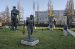 Museum av Bulgarien för socialistArt Sofia stad Arkivbild