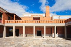Museum av bysantinsk kultur arkivbild