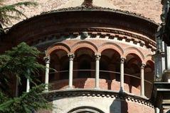 Museum av Certosaen av Pavia royaltyfri foto