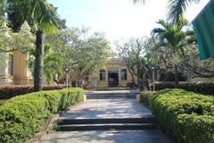 Museum av Chamskulptur i Da Nang Arkivfoton
