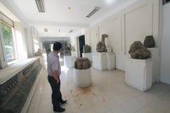 Museum av Chamskulptur i Da Nang Arkivbilder