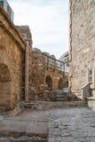 Museum av den Genoese fästningen Royaltyfria Bilder