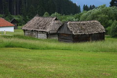 Museum av den slovakiska bysvalan Arkivbild