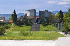 Museum av det slovakiska nationella upproret på Banska Bystrica Royaltyfria Foton