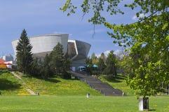 Museum av det slovakiska nationella upproret på Banska Bystrica Arkivbilder