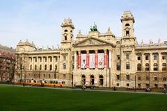 Museum av etnografi, Budapest, Ungern Arkivfoto