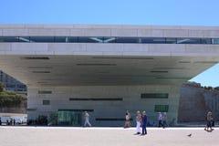 Museum av europeisk och medelhavs- civilisation arkivfoto