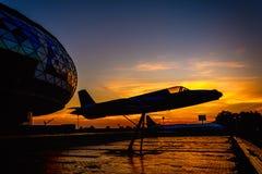 Museum av flyg Royaltyfria Bilder