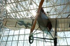 Museum av flyget Arkivbild