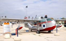 MUSEUM AV FLYGVAPNET av honom Israel Defense Forces. Kfir är Royaltyfri Fotografi