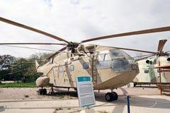 MUSEUM AV FLYGVAPNET av honom Israel Defense Forces. Kfir är fotografering för bildbyråer