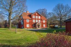 Museum av hällristningar i Norrkoping Arkivfoton