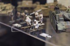 Museum av historien av militären av den ungerska armén med historiska utställningar och sammansättningar på temat av kriget Fotografering för Bildbyråer