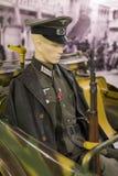 Museum av historien av militären av den ungerska armén med historiska utställningar och sammansättningar på temat av kriget Arkivfoton