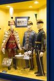 Museum av historien av militären av den ungerska armén med historiska utställningar och sammansättningar på temat av kriget Royaltyfri Fotografi