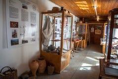 Museum av keltisk kultur på Havranok, Slovakien royaltyfria foton