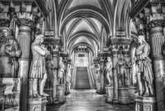 Museum av militär historia i Wien arkivbild