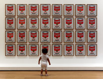 Museum av modern konst i New York City Arkivfoto