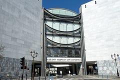 Museum av modernt och samtida konst i Nice fotografering för bildbyråer